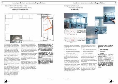 墙壁和天花板的吸音装置