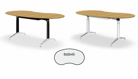 实竹办公桌 Joker 191 (Sitwell 系列)