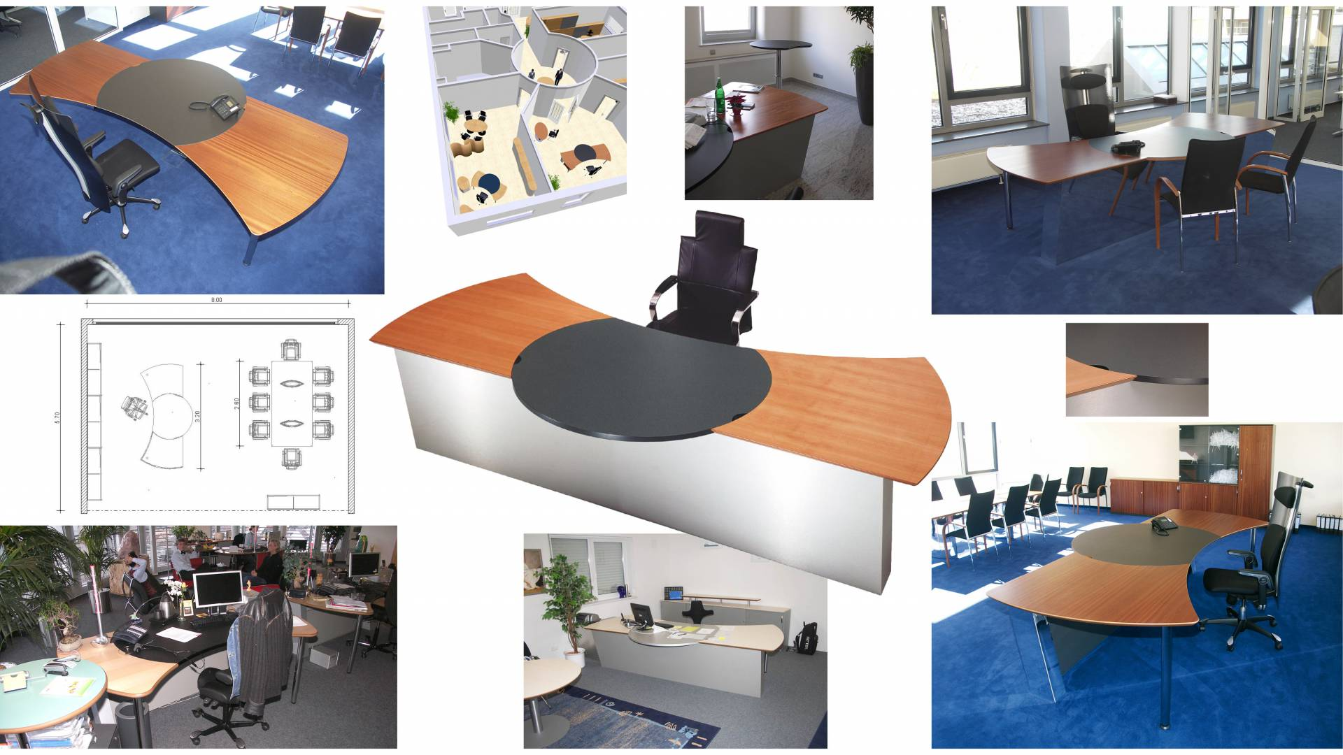 circon 行政命令-办公桌-主权工作场所设计