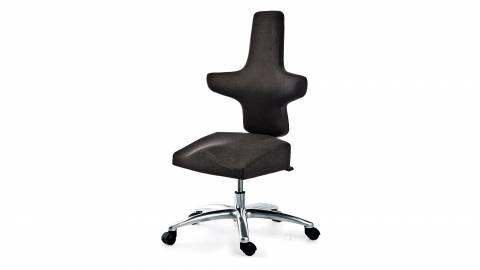 WEY-人体工学办公椅 106 牛皮马鞍椅