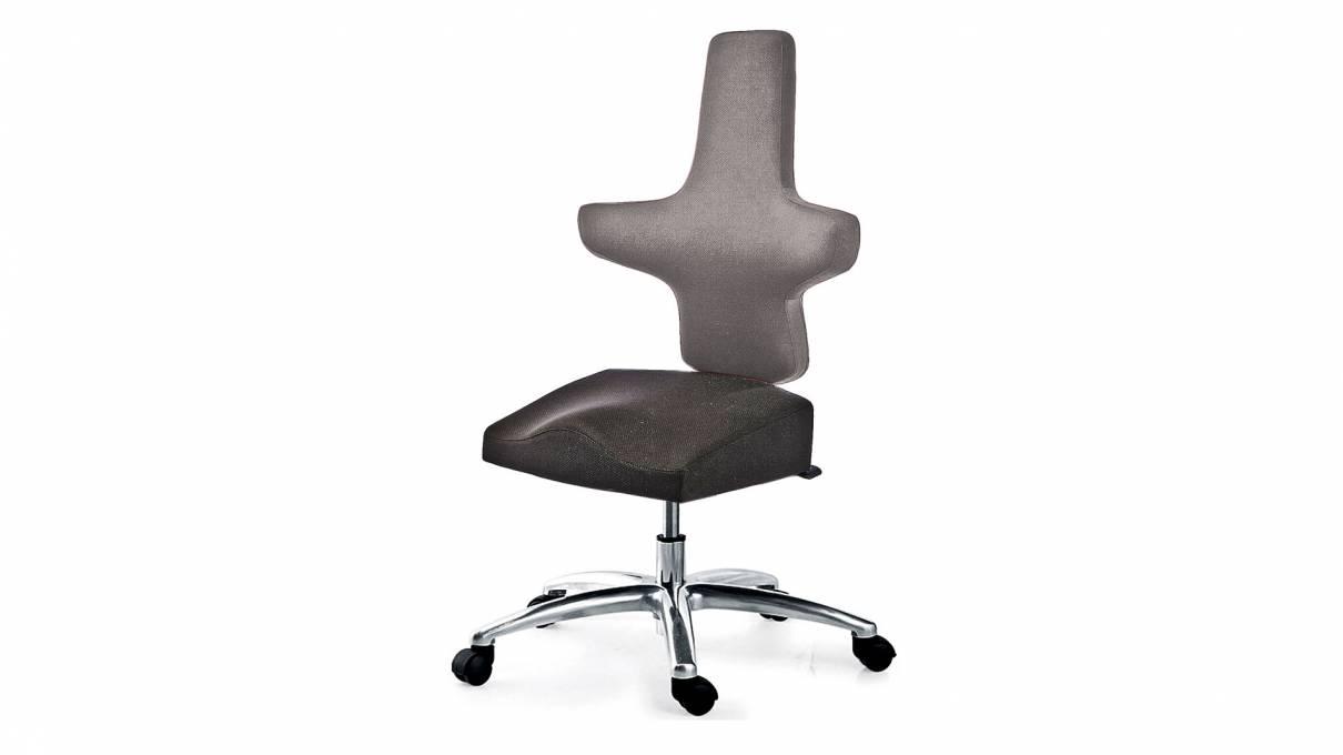 WEY-chair 106 人体工学马鞍座分色办公椅