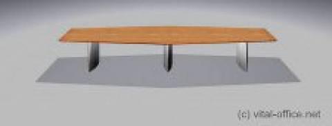 飞人形状 circon s 级-5x1m-会议桌