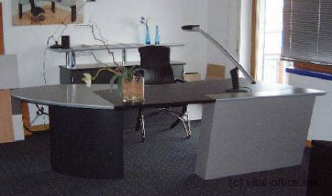 "Circon Jet executive desk Modern ""Team And Work"" work-station for executives"