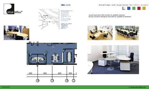 Vital-Office ergonomic planning IMS Gear Taicang