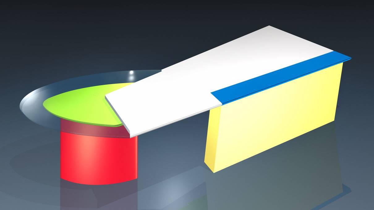 circon 行政射流-办公桌-设计波普艺术