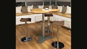 Stehtisch Brecky-Table pt7by10-Mp BT: 1102x1034mm