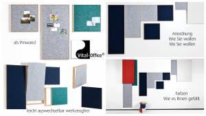vitAcoustic - 3d-frames Frameset 3-teilig Aktionspreis