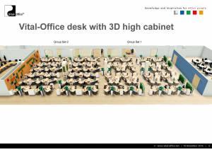 Büroplanung - Repräsentatives Großraum Projekt