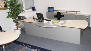 circon 行政命令-办公桌-枫和银