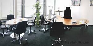 circon 行政经典-行政套房办事处的瑞士梨树和抛光铬最大的保险公司之一。