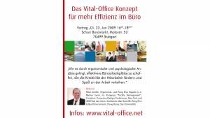 23.06.2009 - Feng Shui: Tuning fürs Büro Vortrag in Stuttgart