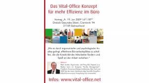19.06.2009 - Feng Shui: Tuning fürs Büro Vortrag in Delmenhorst bei Bremen