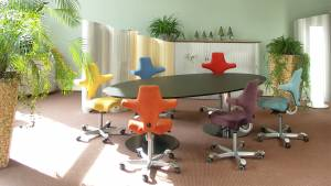 Variconferenz-可变会议表作为椭圆或船表