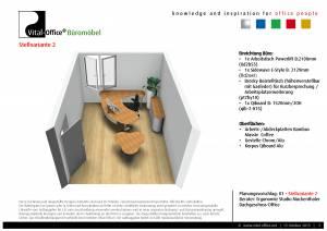 Planung eines Dachgeschoss Office