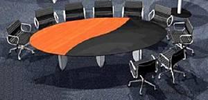 circon s 级-3x1m-创意顶级分割为会议桌的