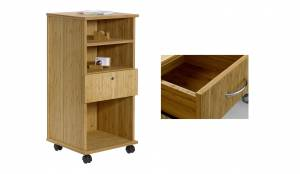 Bamboo multipurpose Caddy with 1 drawer (Sitwell collection)