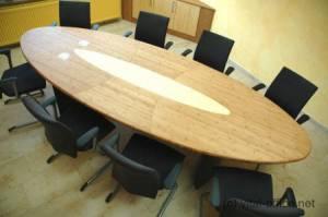 circon-4x1m-s 级会议表中竹硬木与媒体端口和根据风水规则