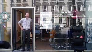 9.05.2009 - Vortrag in München bei Ergonomie Studio Muckenthaler, Pacellistr. 5, 80333 München