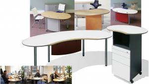 Vital-Office Schreibtisch Joker e-style Dekor