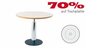 Verkauft: Varitable Ronde pt7r09 in Dekor Birne hell 905x905mm 1x Profil B 1x Profil C