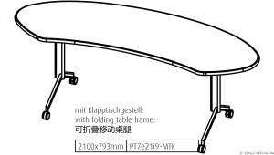 flexiconference - Ellipse - Die Lösung für kleinere Räume