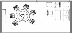 circon s 级-会议表椭圆和圆表