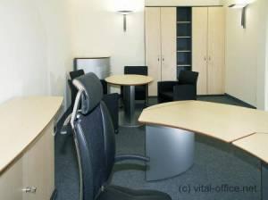 circon 行政经典-办公桌-加拿大枫叶和铝︰ lightish 氛围的经典组合