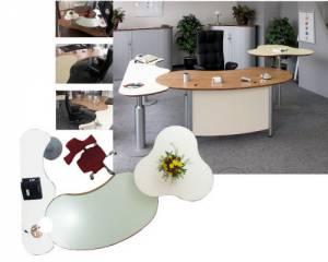 desks - infinity design c-style - S-Class executive desk
