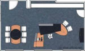 circon 行政射流-行政办公桌-专业的空间规划