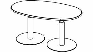 Variconferenz-可变会议表椭圆形