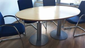 Konferenztisch Varitable Ellipse PT7E1810-MXN BT: 1750x1030mm