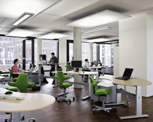 Vitalizing lightning in offices: