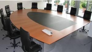 circon s 级-5x4m-半椭圆形会议桌的高伦雅芙,Hilden