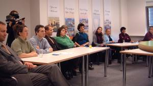 25.-27.01.2001 - Opening .. Talk & Presentation - Sehen & Fühlen | Hören & Diskutieren