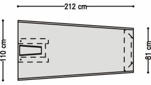 脸上-circon 脸桌子基本单元以适应机柜