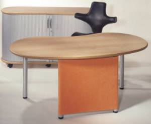 desks - infinity design e-style - Protection in micro fiber fabric