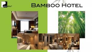 绿色竹材全竹酒店和定制家具